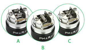 Digiflavor Pharaoh 25 Dripper Tank Atomizer (Verdampfer)Verdampfer - 2 ml