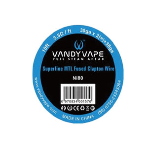 Vandy Vape Prima MTL Fused Clapton Draht (Wire) - 10ft