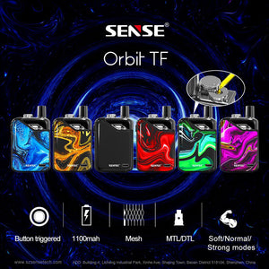 Sense Orbit TF Pod System Kit 1100mAh & 3ml