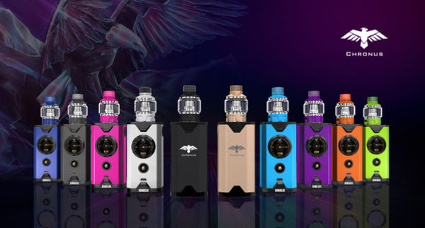 Sigelei Chronus 200W Kit mit 5.5ml Sigelei Chronus Tank Verdampfer
