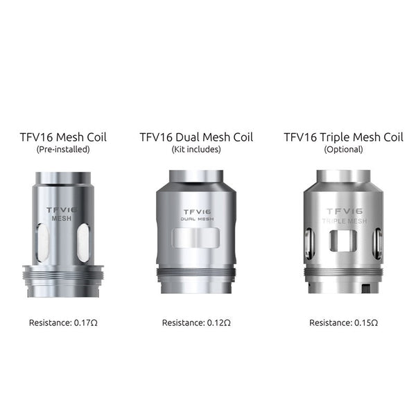 Smok TFV16 Replacement Mesh Coils 3 Stück/Packung