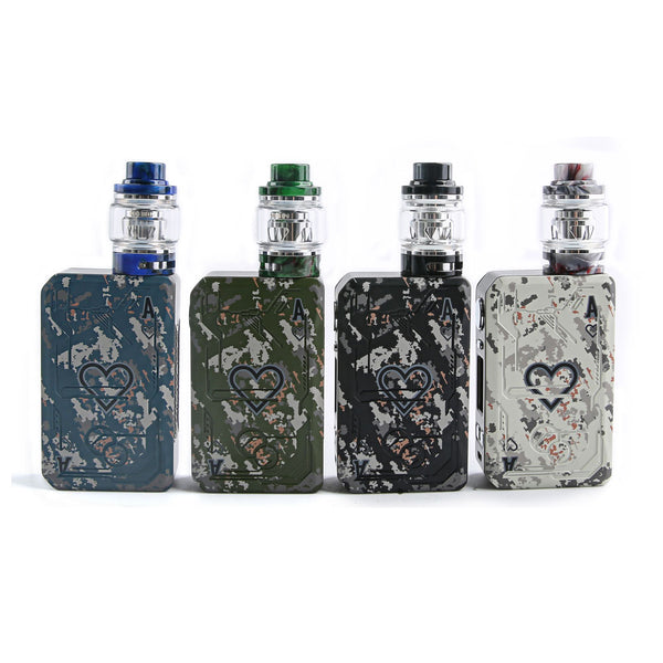 Teslacigs Poker 218 Kit mit Resin Verdampfer 4ml/6ml