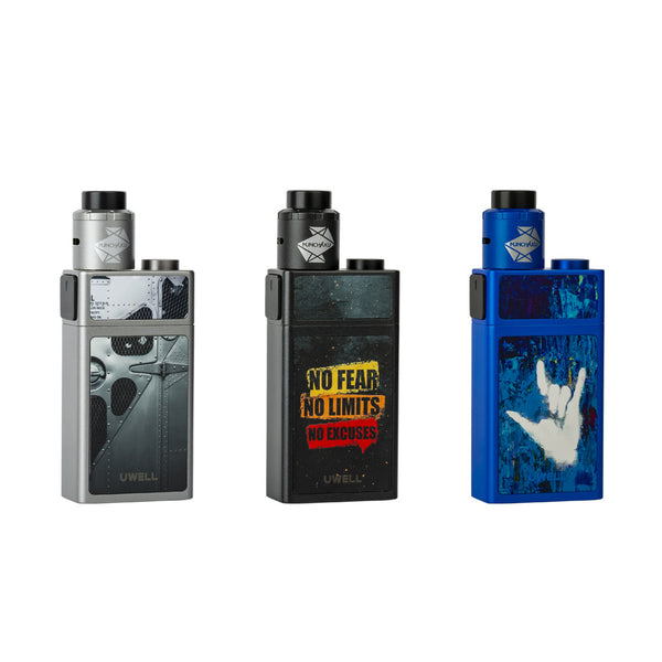 Uwell Blocks Squonk 90W Kit mit Nunchaku RDA Verdampfer