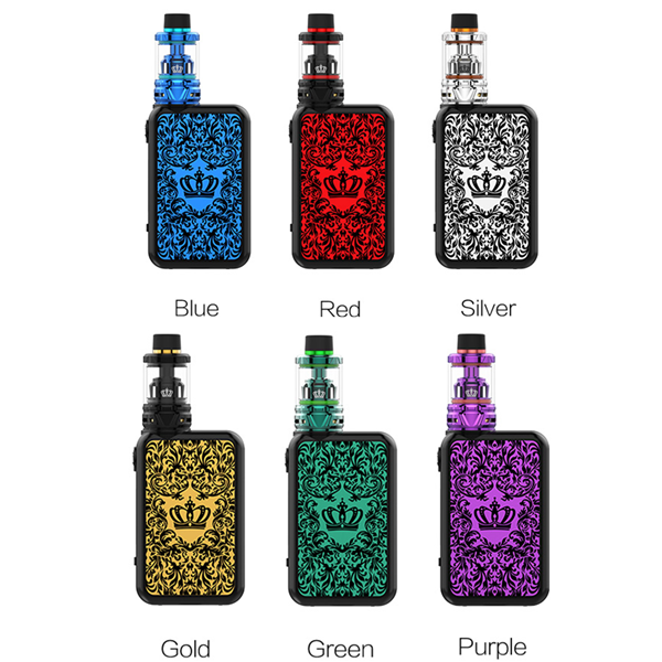UWELL Crown 4 (IV) 200W TC Kit mit Crown 4 (IV) Verdampfer 6ml/2ml