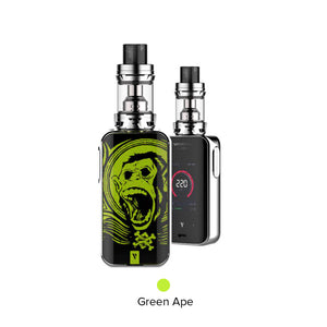 Vaporesso Luxe 220W Touch Screen TC Starterset mit Skrr Verdampfer - 8ml