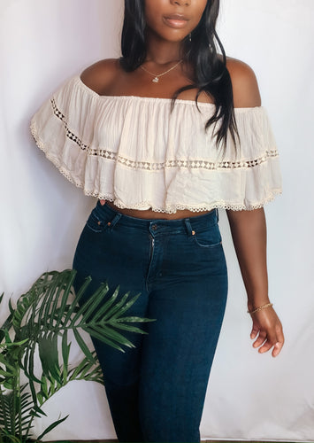Flirty Mama Crop Top