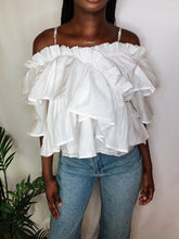 Load image into Gallery viewer, Tiana Ruffle Top