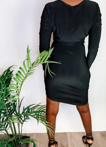 Tina Long Sleeve Mini Dress