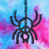 Embroidered and Dyed Lightweight Hoodie - M
