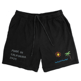 Embroidered Jersey Shorts - S-XL