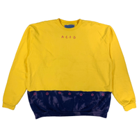 Embroidered Color Swap Crewneck - XL
