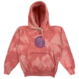 Embroidered and Dyed Hoodie - Small