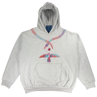Embroidered Hoodie - 2XL