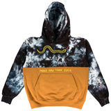 Embroidered and Dyed Color Swap Hoodie - Medium