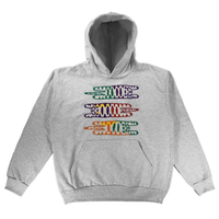 Embroidered Hoodie - Large