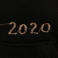 Embroidered Hoodie - Small