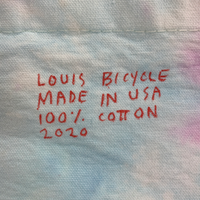 Big Embroidered and Dyed Bag