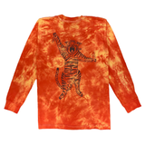 Hand dyed and screen printed long sleeve pocket tee - <strike>S</strike> <strike>M</strike> <strike>L</strike> <strike>XL</strike> <strike>2XL</strike>