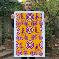 Screen Printed Poster / 24in x 36in / S21