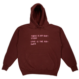 Embroidered Love Hoodie PRESALE - S - M - L - XL - 2X