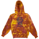 Embroidered and Dyed Hoodie - XS