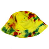 Hand Made and Dyed Bucket Hat - L/24""