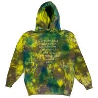 Embroidered and Dyed Hoodie - M
