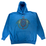 Embroidered and Dyed Hoodie - 3XL