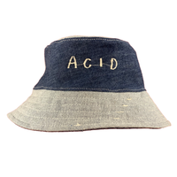 Hand Made Embroidered Bucket Hat - Small