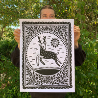 Screen Printed Poster / 18in x 24in / S5