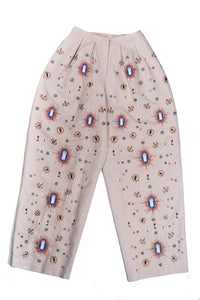 Saint Caveman Embroidery Pants