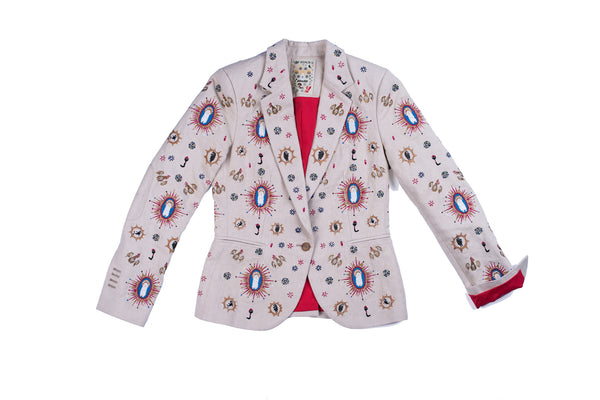 Saint Caveman Embroidery Jacket