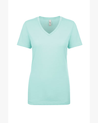 Ladies V Neck T-Shirt (Customize Online)