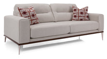 Load image into Gallery viewer, Abella Ivory Sofa