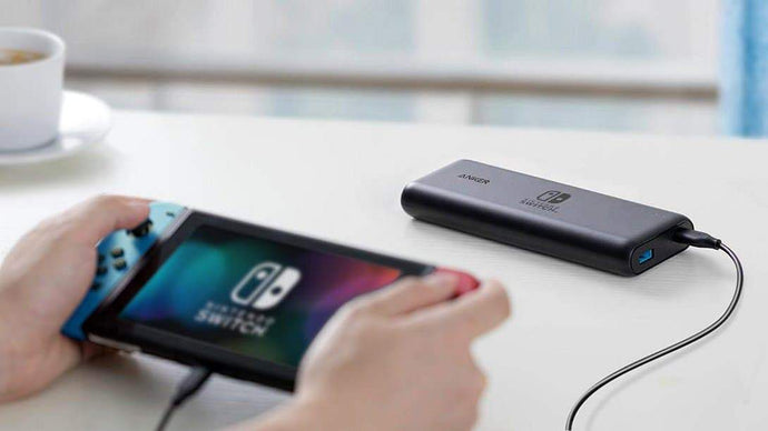 ANKER PowerCore 20100 USB-C PD 行動電源 - NINTENDO SWITCH EDITION - anlander.com