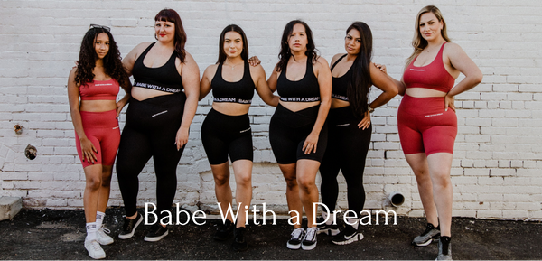Body Positivity Group of women wearing athleisure clothing