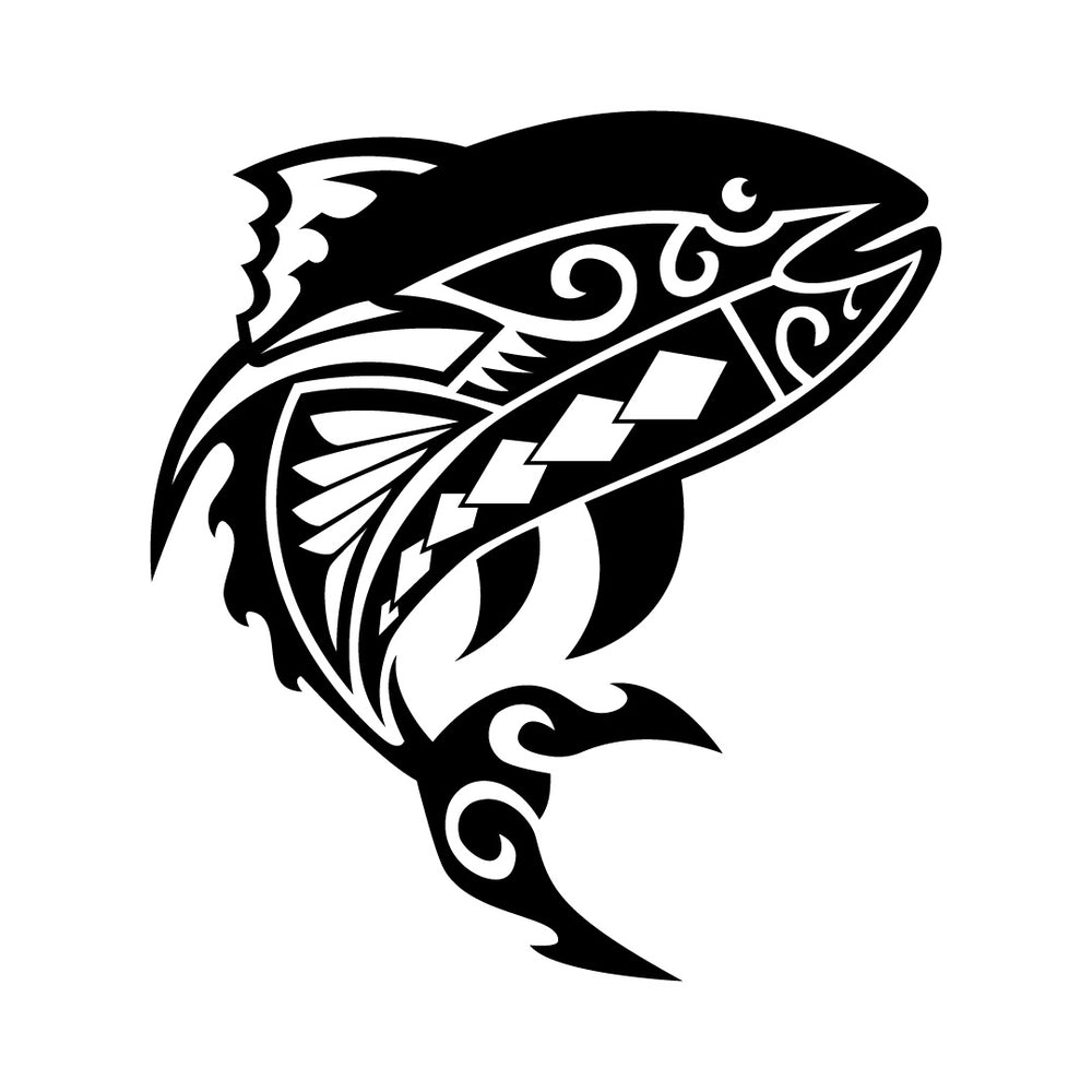 Ahi Decal