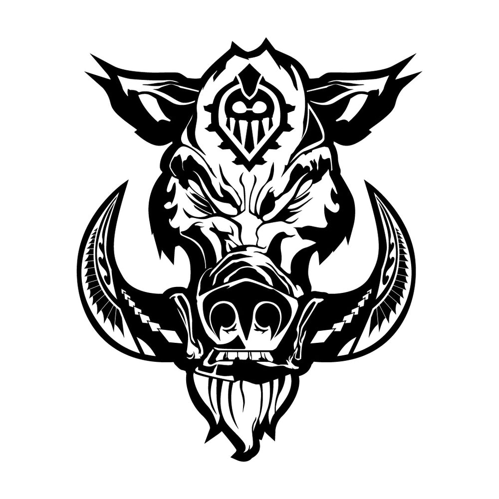 Boar Decal