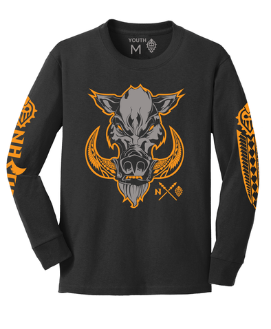 Youth Boar Longsleeve (XS-Lrg)