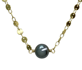 Single Disc Chain Choker (Plated)