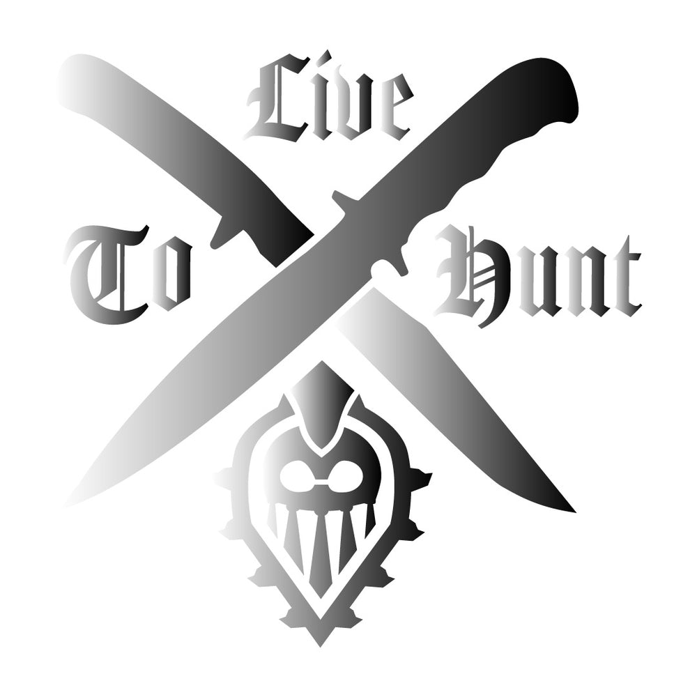 Live to Hunt Decal