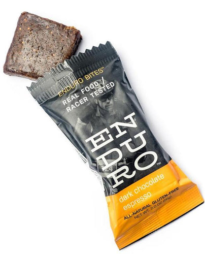 Enduro Bites Dark Chocolate Espresso Nutrition Enduro Bites