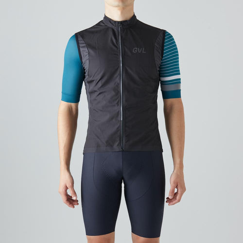 Givelo Mens Black Quick Free Gecko Gilet Gilets Givelo