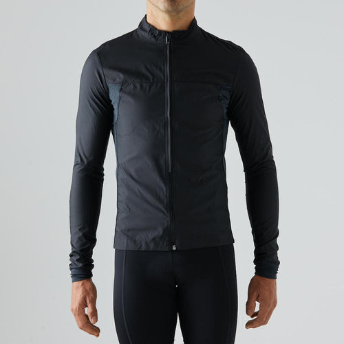 Givelo Mens Black Quick Free Wind Jacket Jackets Givelo