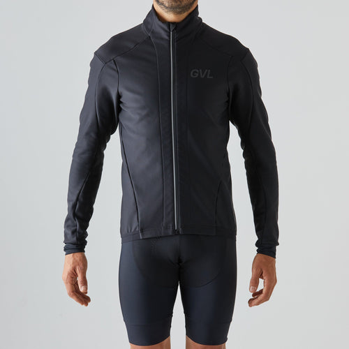 Givelo Mens Black Thermal Jacket Jackets Givelo