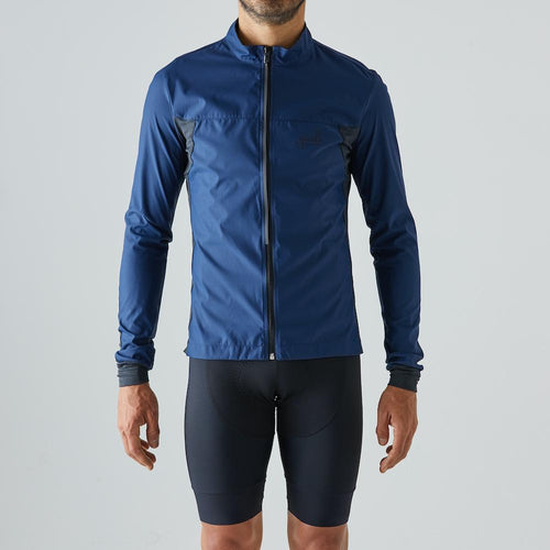 Givelo Mens Blue Quick Free Wind Jacket Jackets Givelo