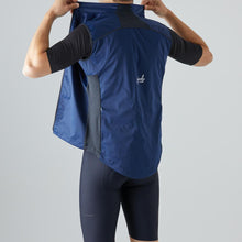 Load image into Gallery viewer, Givelo Mens Blue Windproof Gilet Gilets Givelo