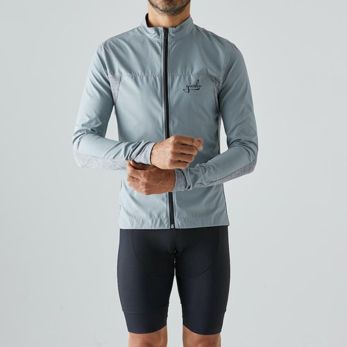 Givelo Mens Gray Quick Free Wind Jacket Jackets Givelo