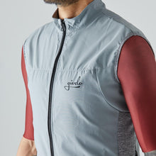 Load image into Gallery viewer, Givelo Mens Gray Windproof Gilet Gilets Givelo