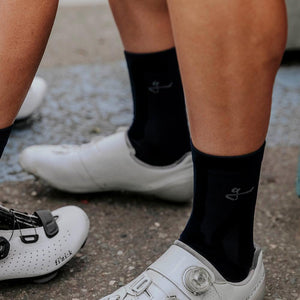 Givelo Unisex Black Socks Socks Givelo